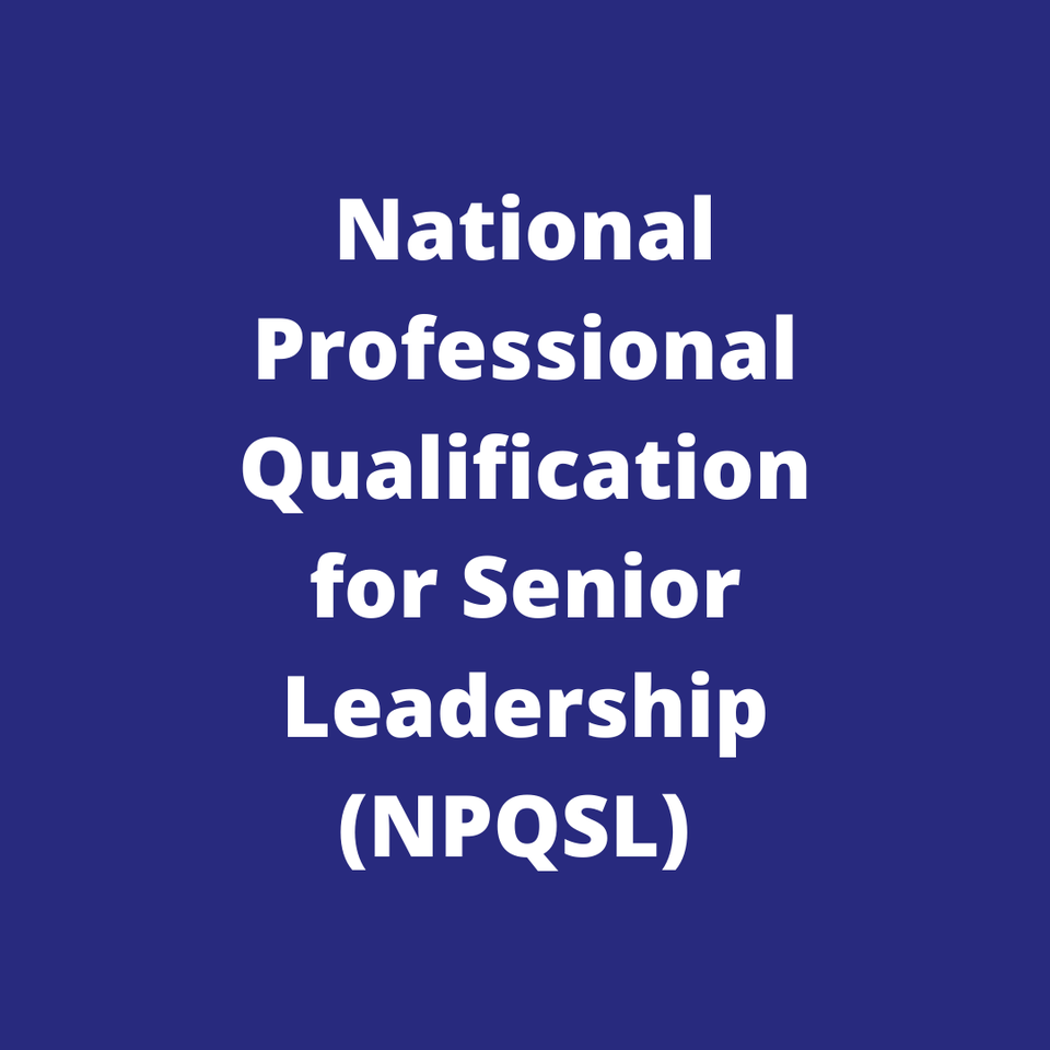 Church of England National Professional Qualification for Senior Leadership (NPQSL)