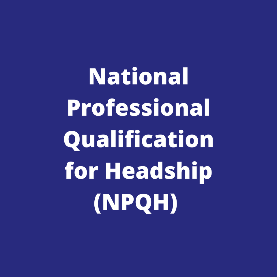 Church of England National Professional Qualification for Headship (NPQH)