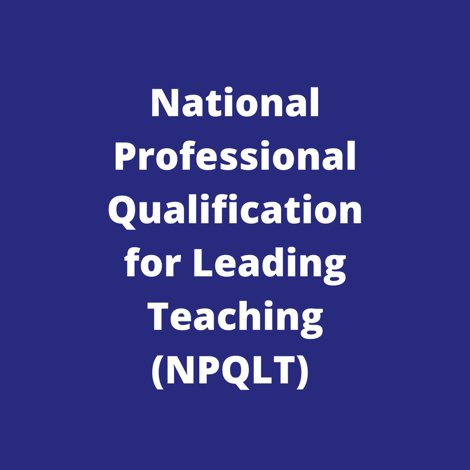 Church of England National Professional Qualification for Leading Teaching (NPQLT)