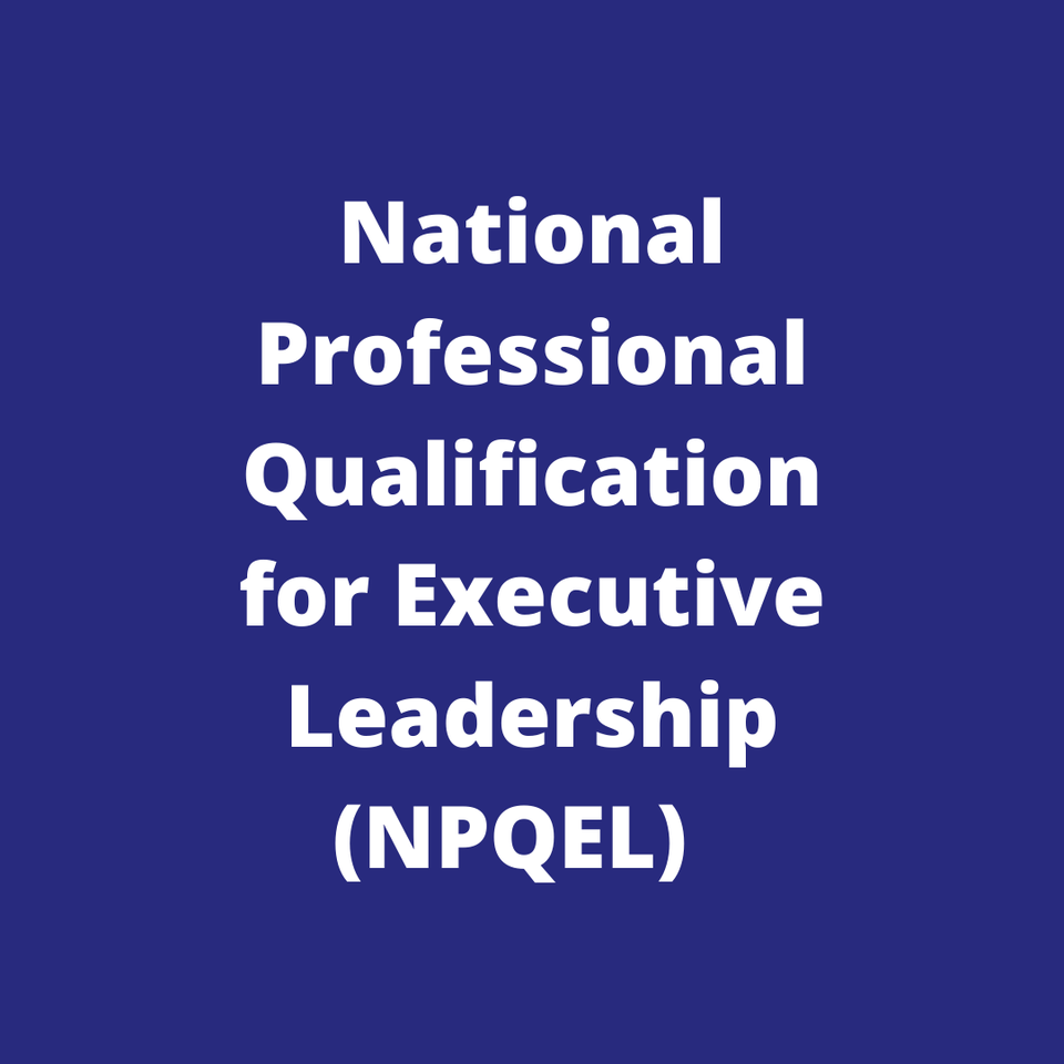 Church of England National Professional Qualification for Executive Leadership (NPQEL)